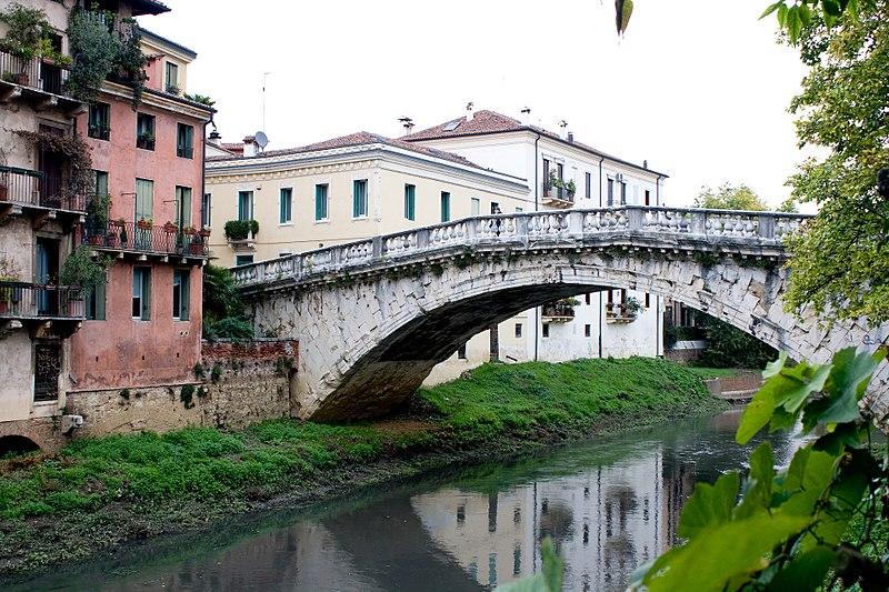 Passeggiando per vicenza - Ponte San Michele da est