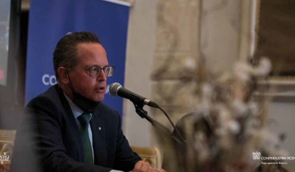 Il Presidente Andrea Vesentin