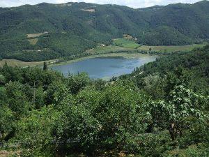 Il Lago Di Fimon - panorama dello specchio d'acqua