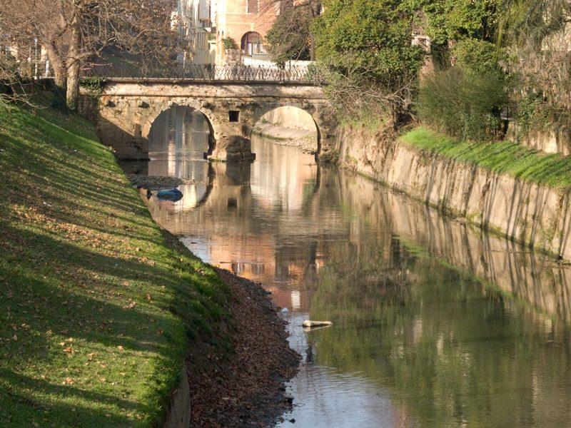 Passeggiando per Vicenza - Ponte risalente al 1200