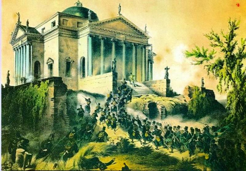 Museo di Vicenza - Battaglia Di Vicenza in un dipinto
